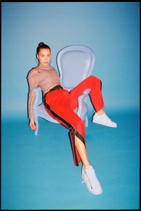 Eric T. White captured Bella Hadid for Footwear News x Nike - See Management
