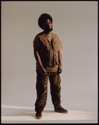 Luc Coiffait captures Michael Kiwanuka fir Kinfolk - Luc Coiffait