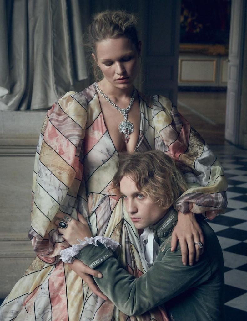 Charlotte-Wales-Anna-Ewers-Vogue-Paris-December-2019-2