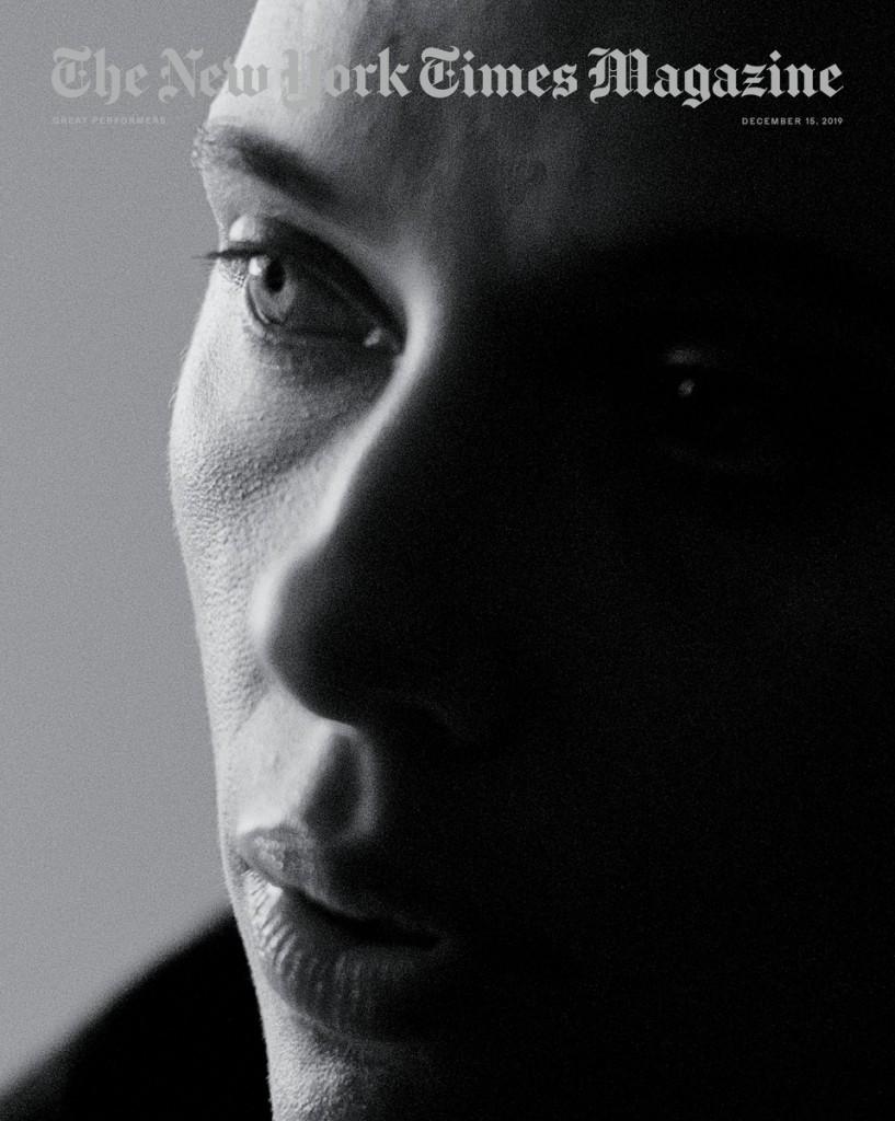 Jack-Davison-Brad-Pitt-Scarlett-Johansson-Lupita-Nyongo-Robert-De-Niro-Leonardo-Di-Caprio-Adam-Driver-New-York-Times-Magazine-December-2019-6