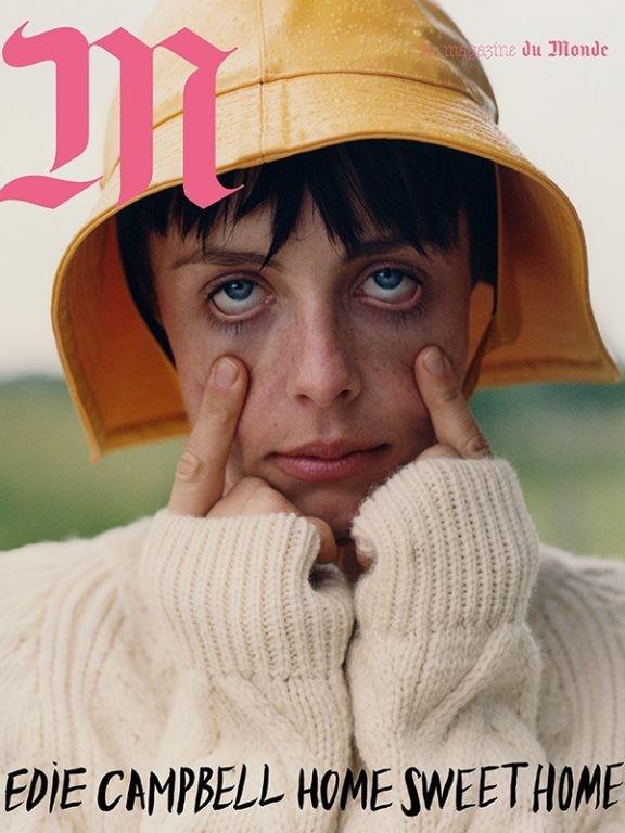 Edie Campbell photographed by Dan Martensen for M le Magazine du Monde-1