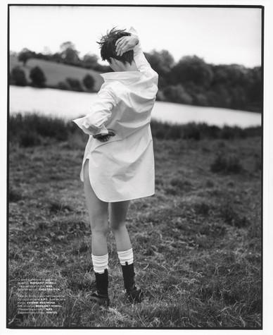 Edie Campbell photographed by Dan Martensen for M le Magazine du Monde-2