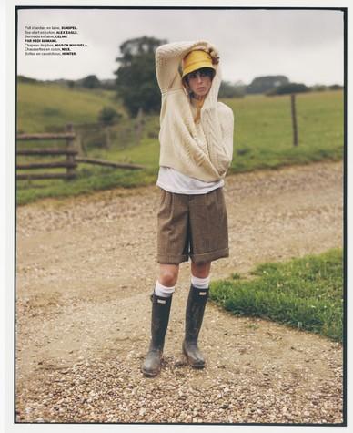Edie Campbell photographed by Dan Martensen for M le Magazine du Monde-4