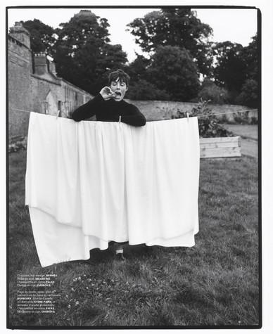 Edie Campbell photographed by Dan Martensen for M le Magazine du Monde-5