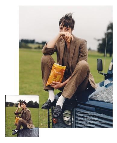 Edie Campbell photographed by Dan Martensen for M le Magazine du Monde-6