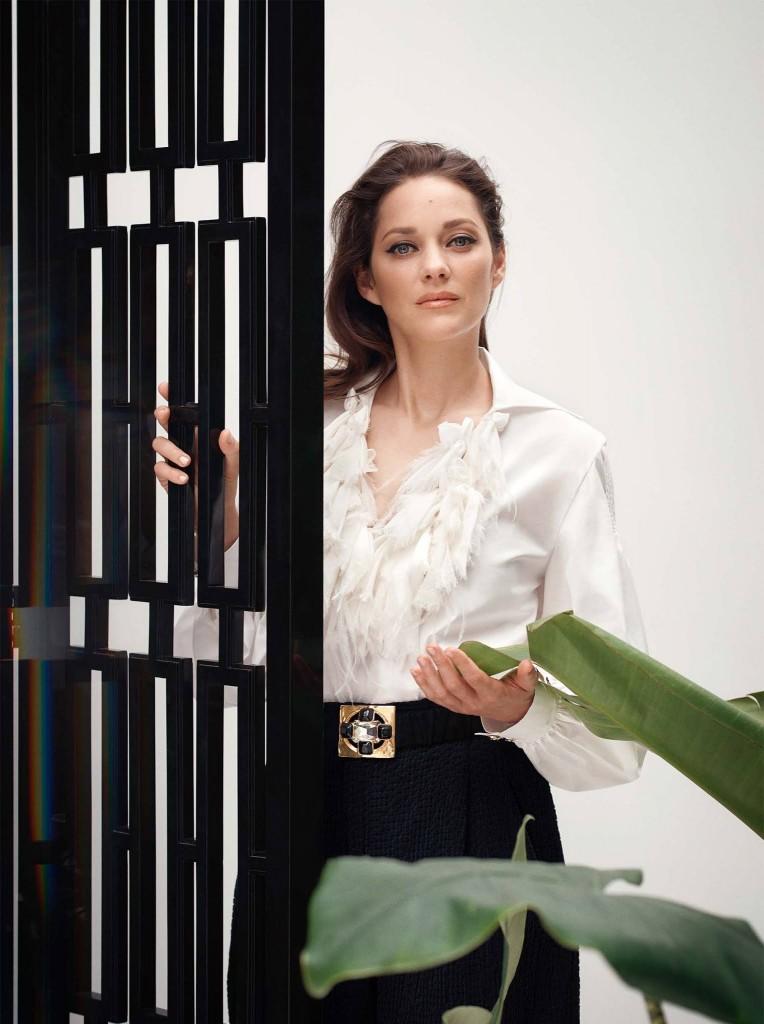 Marion Cotillard by Serge Leblon for Harpers Bazaar UK-2