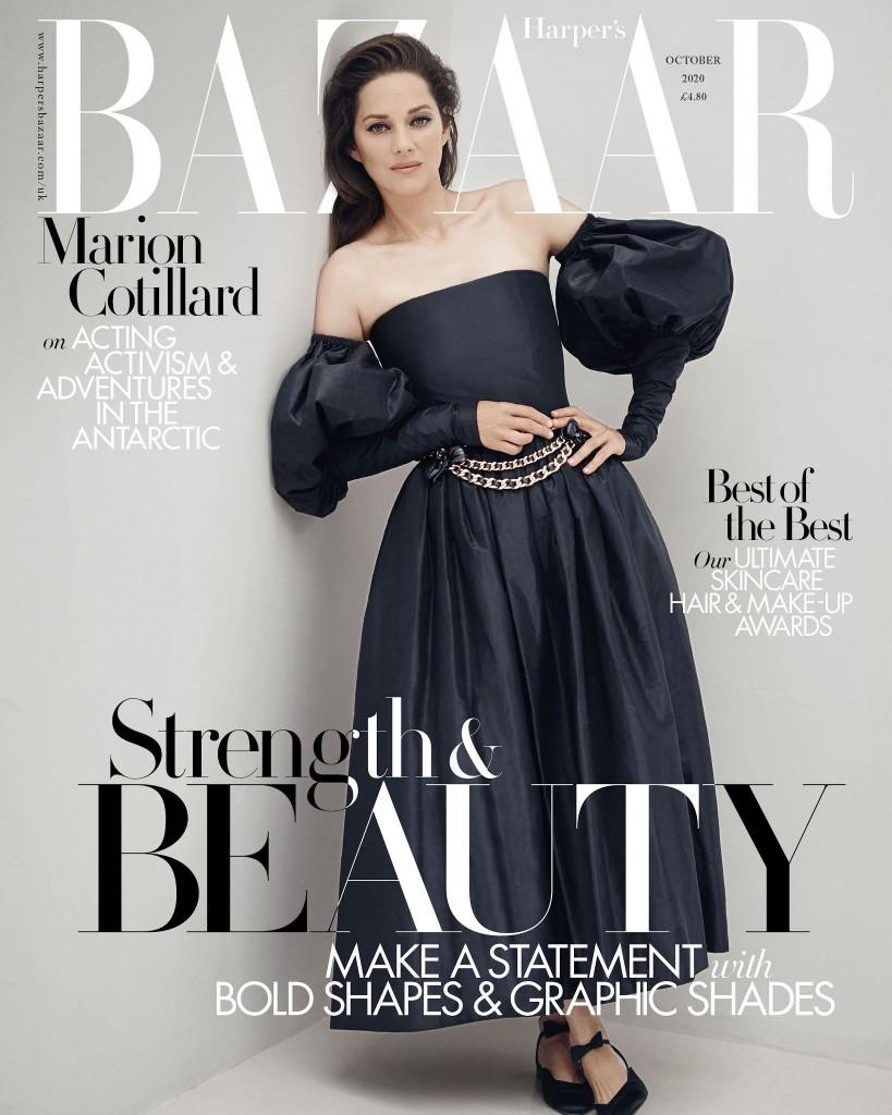 Marion Cotillard by Serge Leblon for Harpers Bazaar UK-7