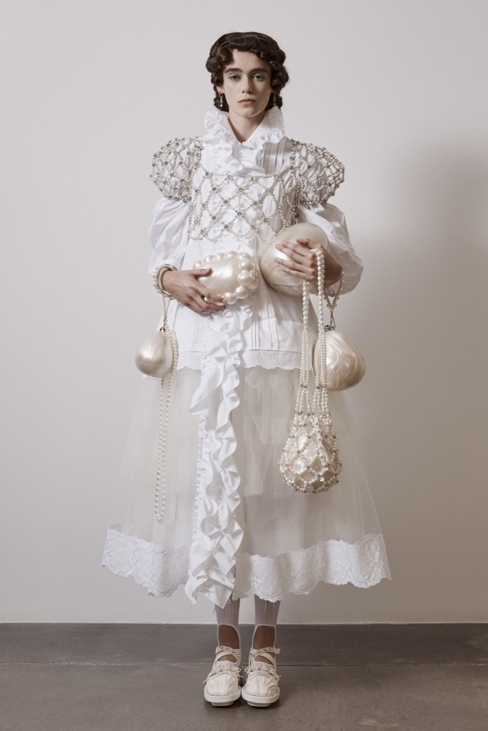 Simone Rocha SS21 Lookbook photographed by Andrew Nuding-5