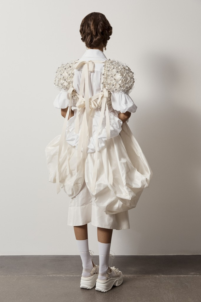 Simone Rocha SS21 Lookbook photographed by Andrew Nuding-7