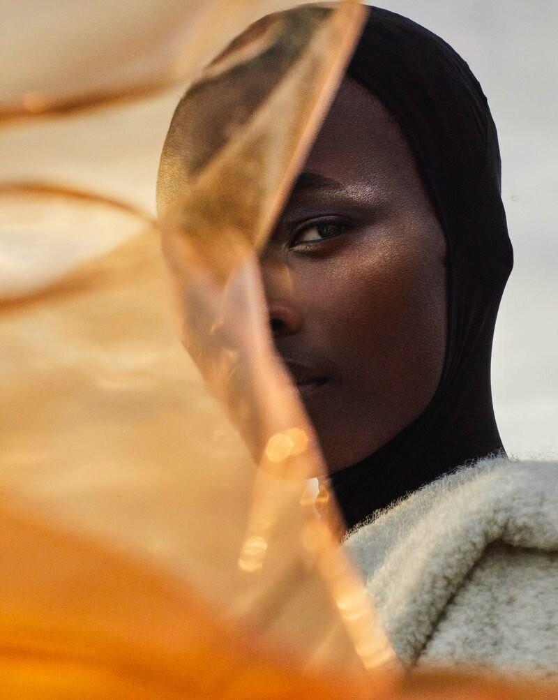 Model Michele Opiyo photographed by Dan Smith for Glass Magazine-1