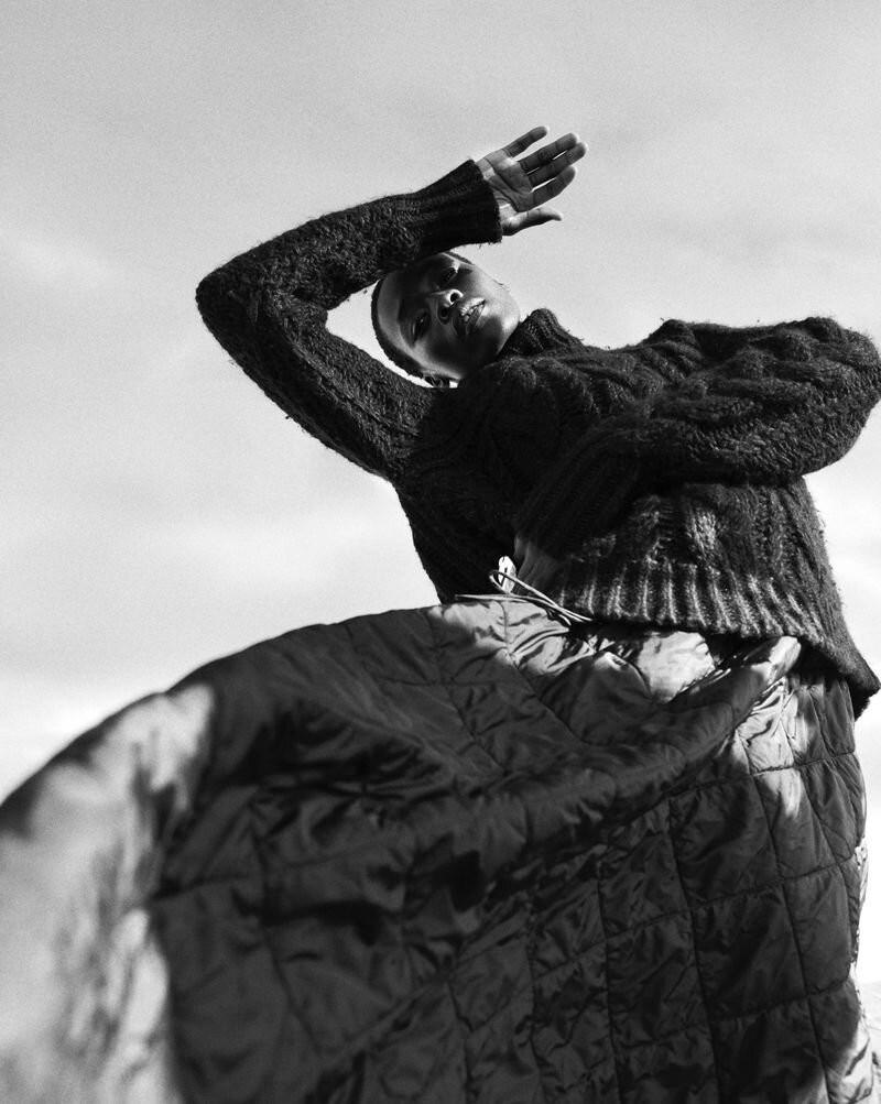Model Michele Opiyo photographed by Dan Smith for Glass Magazine-3