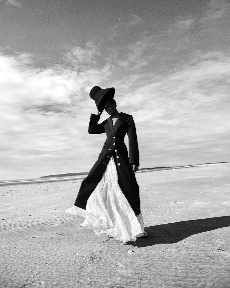 Model Michele Opiyo photographed by Dan Smith for Glass Magazine-7