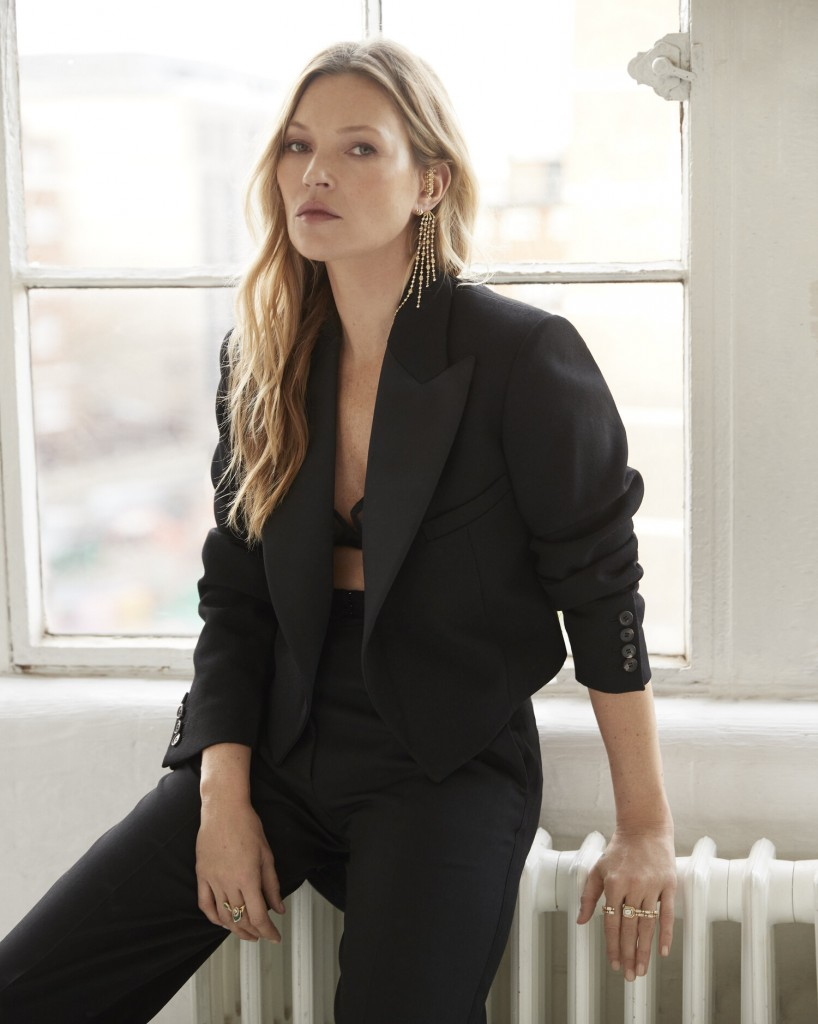 Photographer Fred Meylan shoots Kate Moss for Madame Figaro France-2
