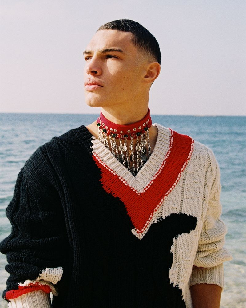 Shine Bright –editorial for V Man photographed by Bruna Kazinoti-3