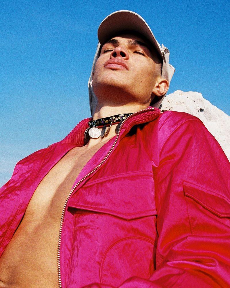 Shine Bright –editorial for V Man photographed by Bruna Kazinoti-5