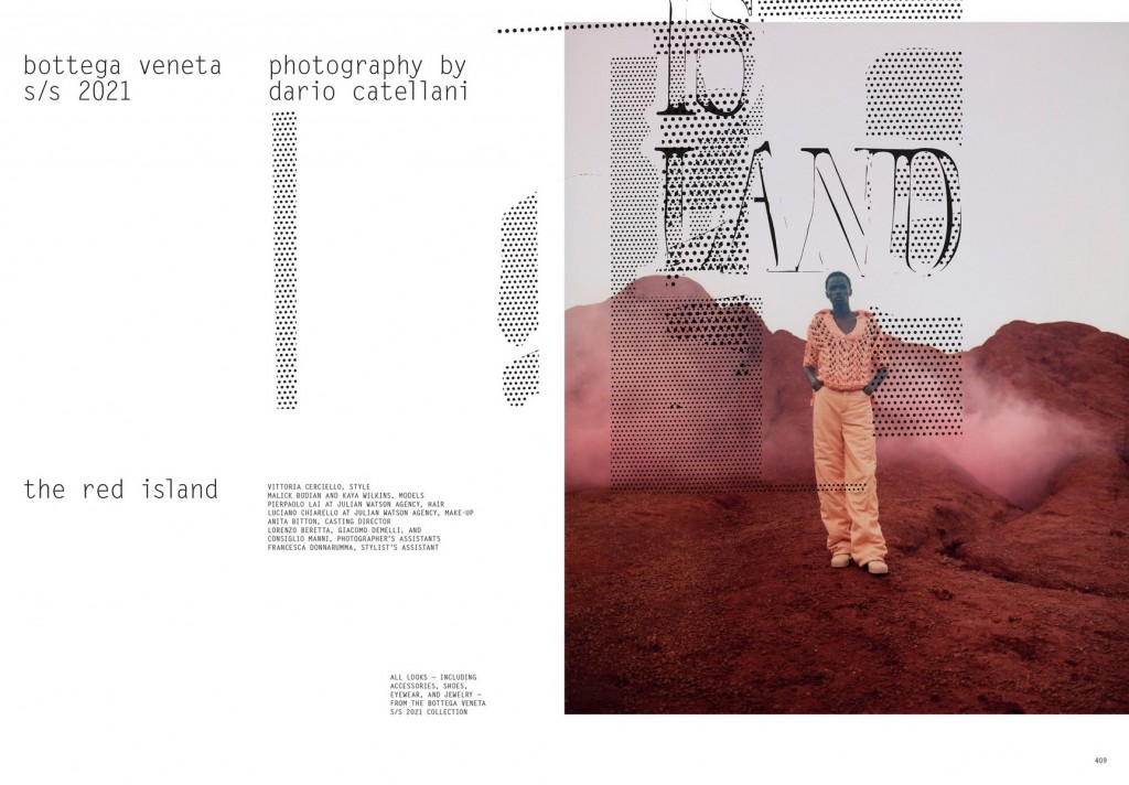 Photographer Dario Catellani for Purple Magazine, Bottega Veneta Special-3