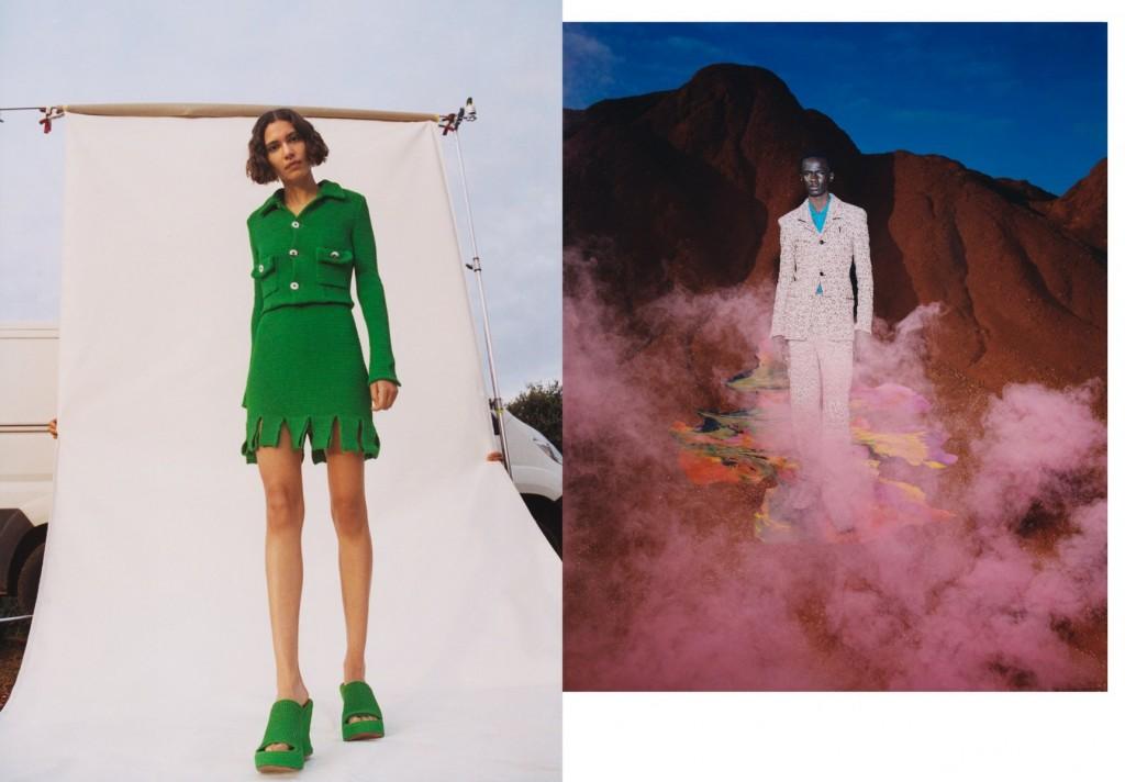 Photographer Dario Catellani for Purple Magazine, Bottega Veneta Special-7