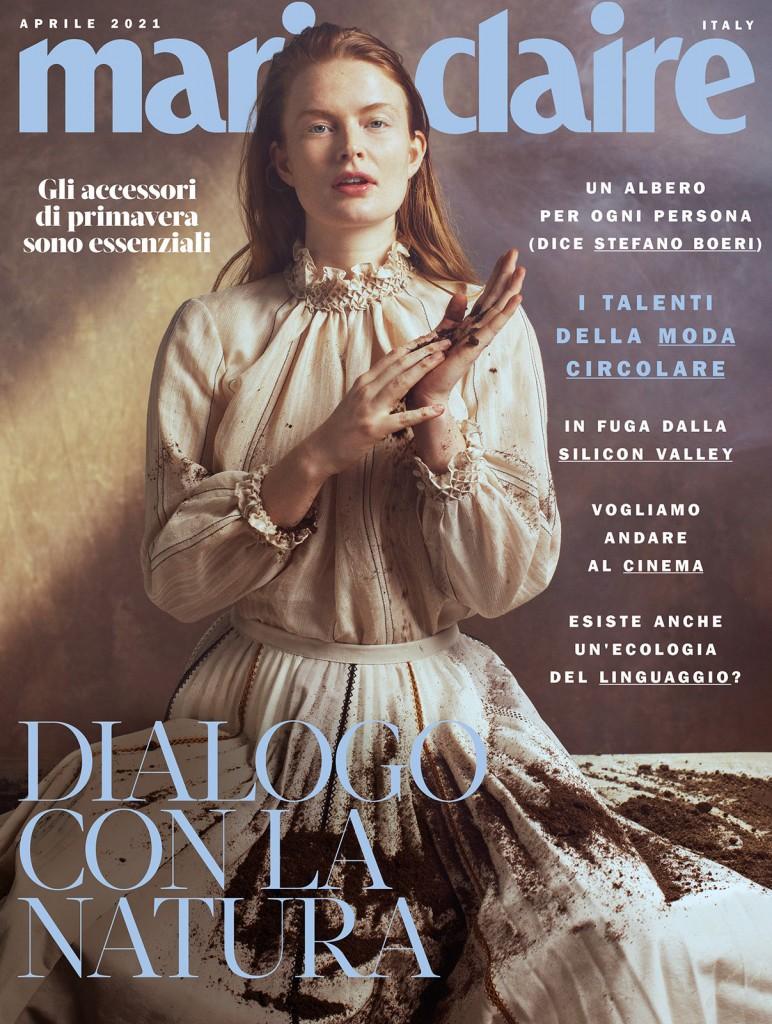 Cover story Marte for Marie Claire Italia shot by Marta Bevacqua-7