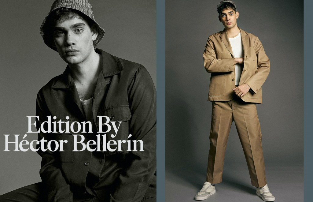 Oscar Falk shoots for H&M x Héctor Bellerín-1