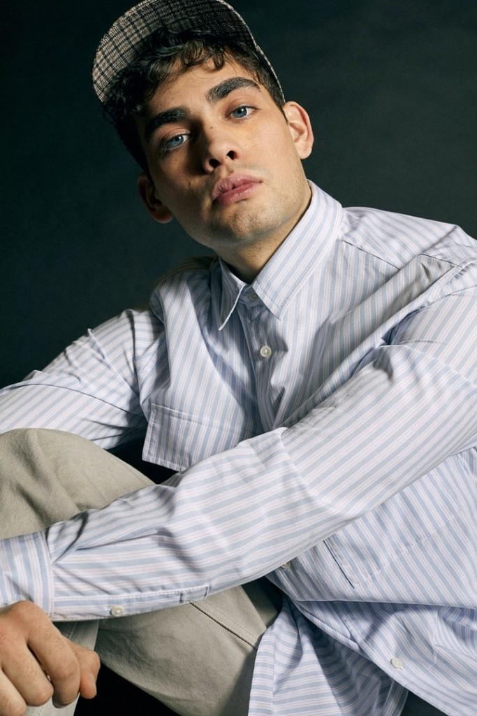 Oscar Falk shoots for H&M x Héctor Bellerín-2