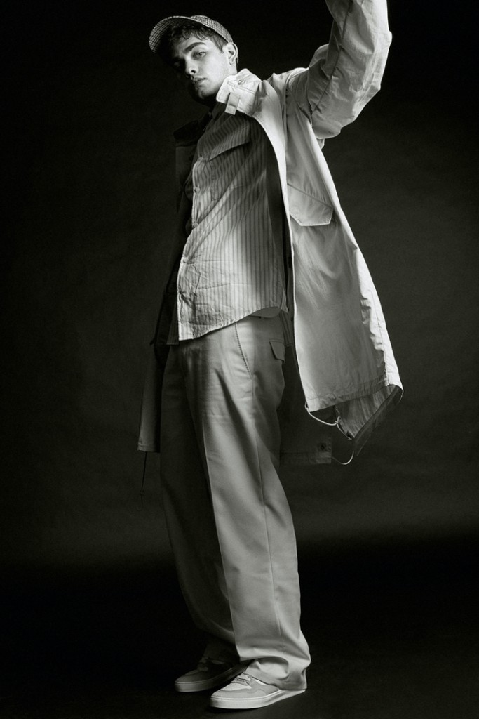 Oscar Falk shoots for H&M x Héctor Bellerín-3