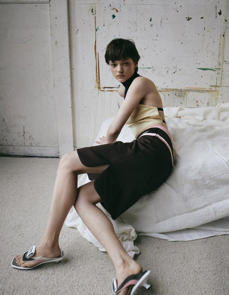 Fashion editorial shot by VanMossevelde+N for Elle France-3