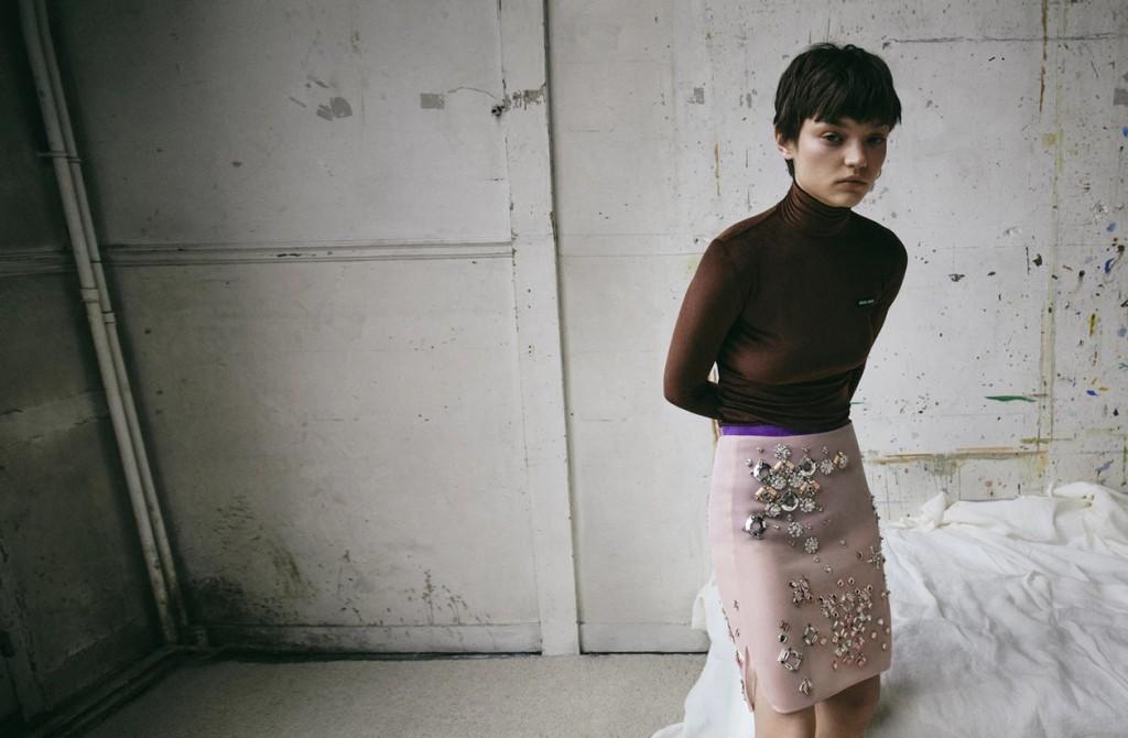 Fashion editorial shot by VanMossevelde+N for Elle France-7