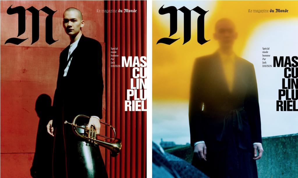 Cover story Masculine Plural by Jack Davison for M Le magazine du Monde-1