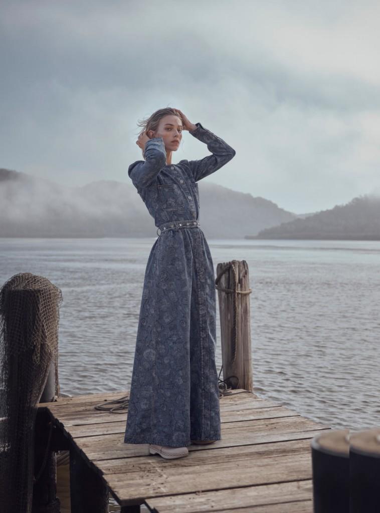 Photographer Nicole Bentley for Marie Claire Australia with Linnea Grondahl-6