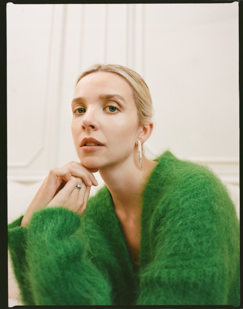 Editorial with Greta Bellamacina photographed by Theresa Marx for The Title-3