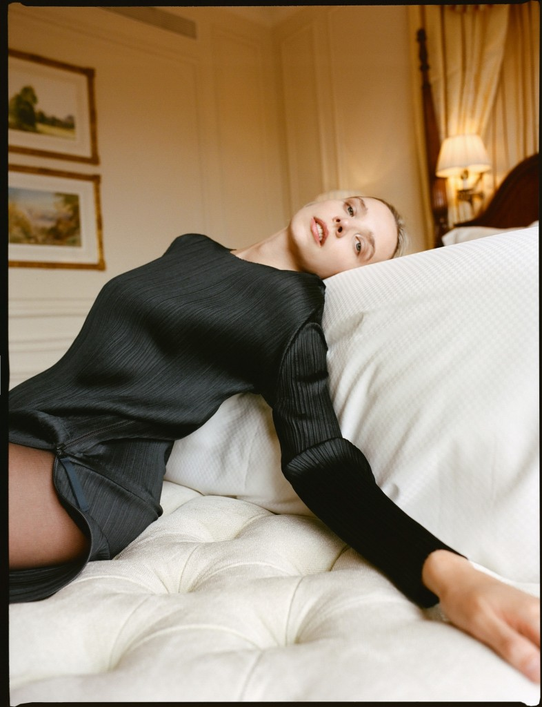 Editorial with Greta Bellamacina photographed by Theresa Marx for The Title-7