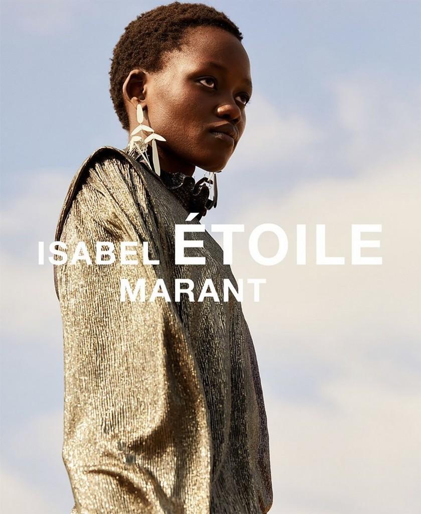 Isabel Marant Etoile campaign shot by Leon Mark-1