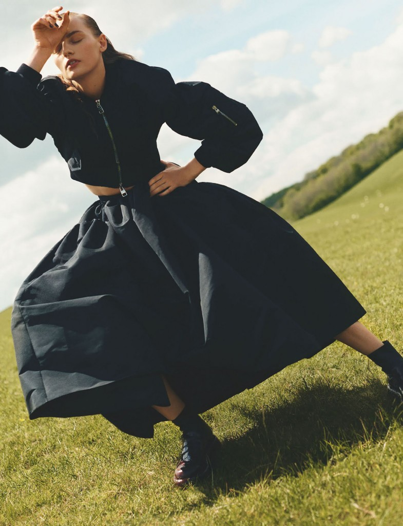Editorial Power and Purpose for British Vogue photographed by Scott Trindle-3