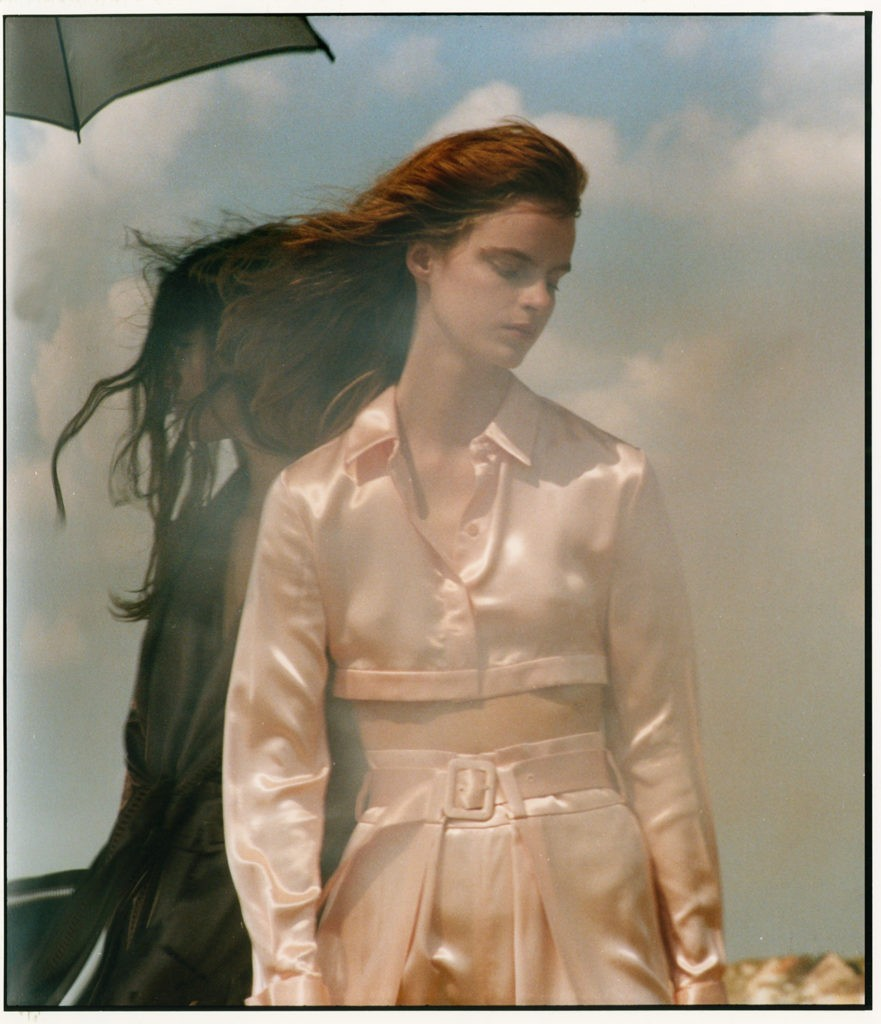 Elina Kechicheva shoots for Numéro France September issue-1