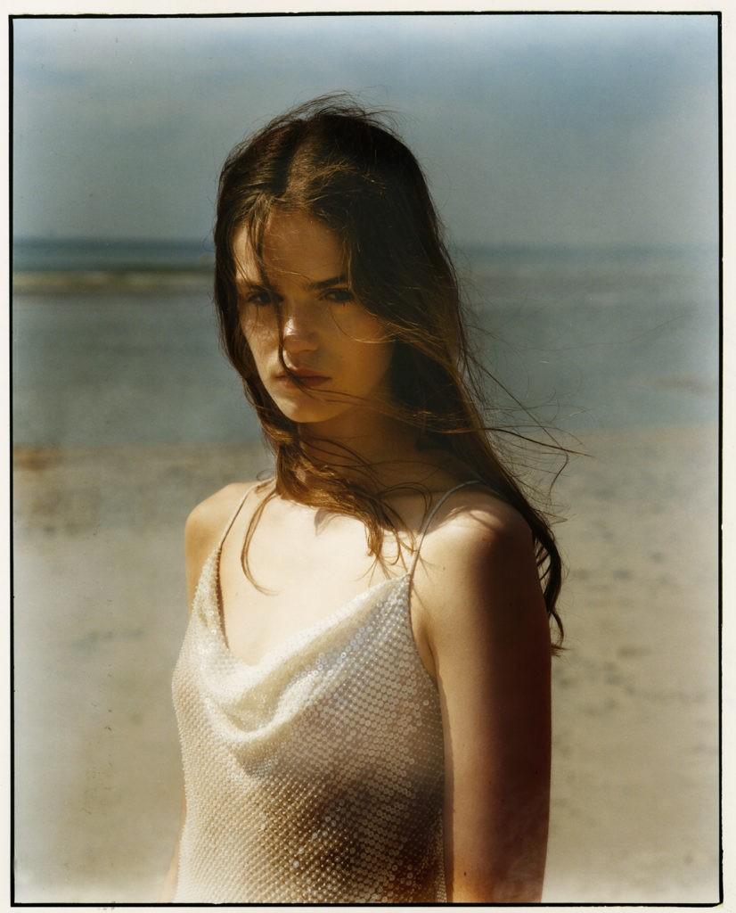 Elina Kechicheva shoots for Numéro France September issue-3