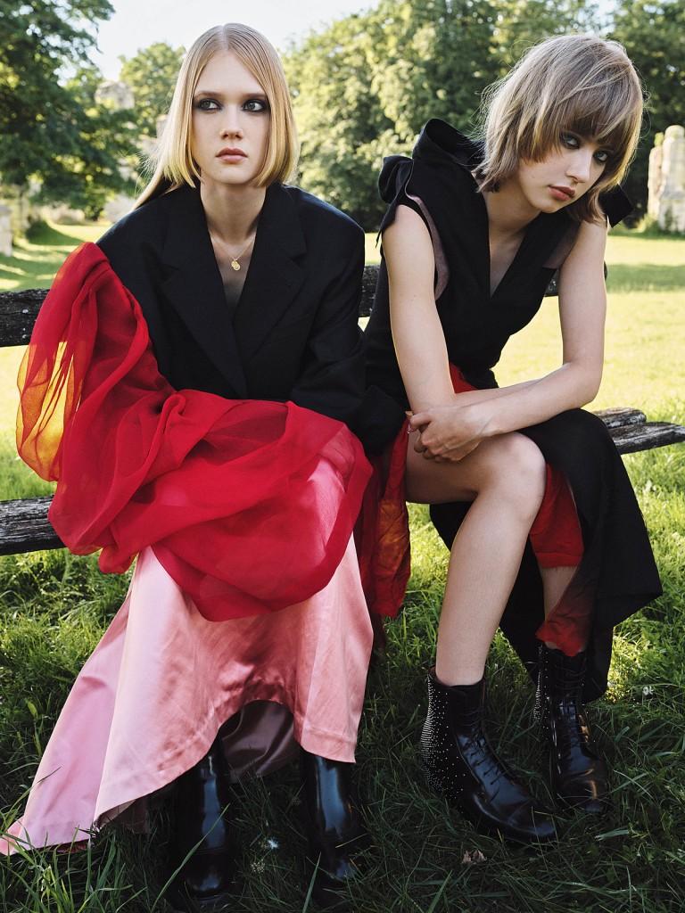 Editorial New Goth for Vogue Greece shot by Johan Sandberg-1