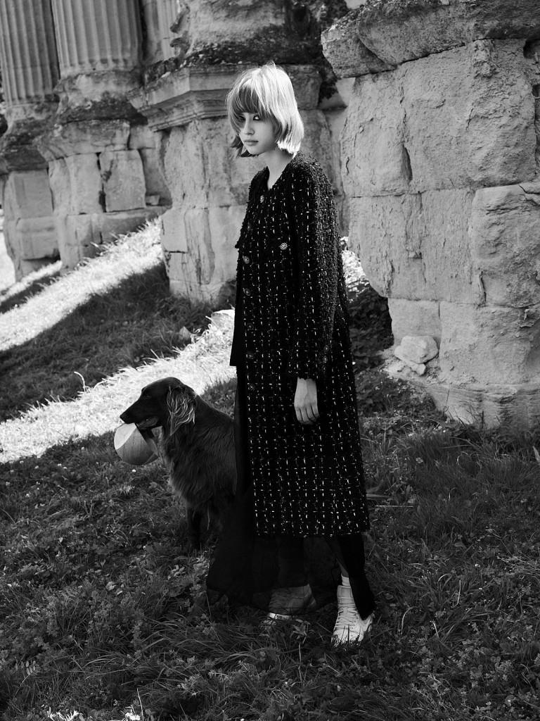 Editorial New Goth for Vogue Greece shot by Johan Sandberg-5