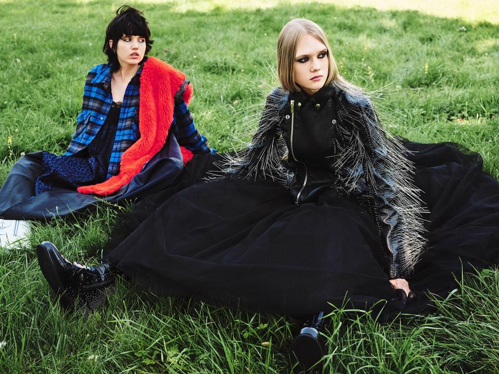 Editorial New Goth for Vogue Greece shot by Johan Sandberg-7