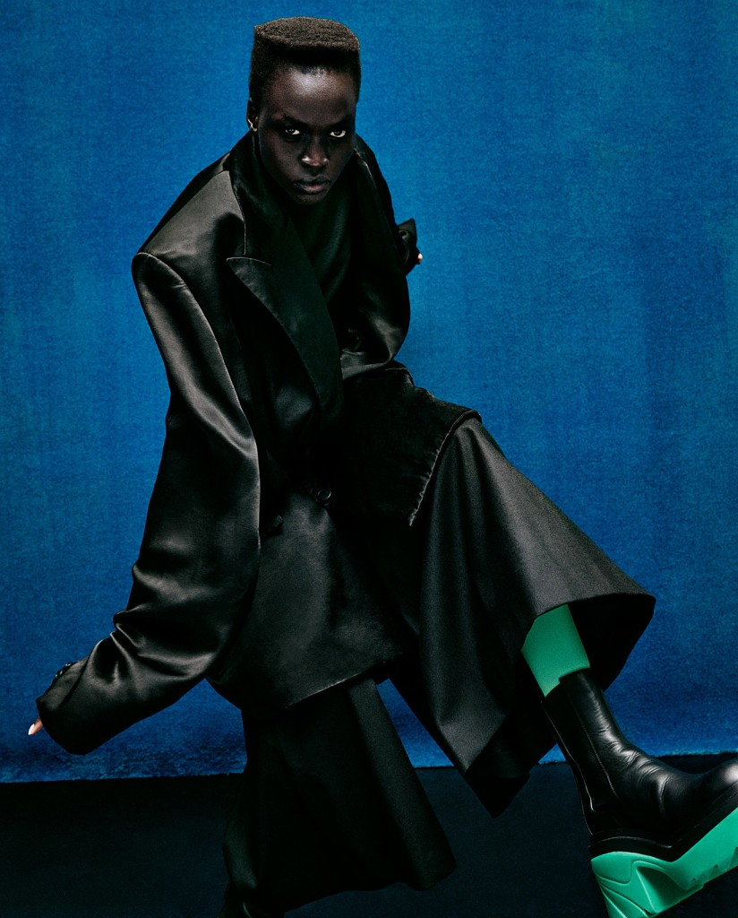 Cover story for D La Repubblica Fashion September 2021 shot by Van Mossevelde+N-2
