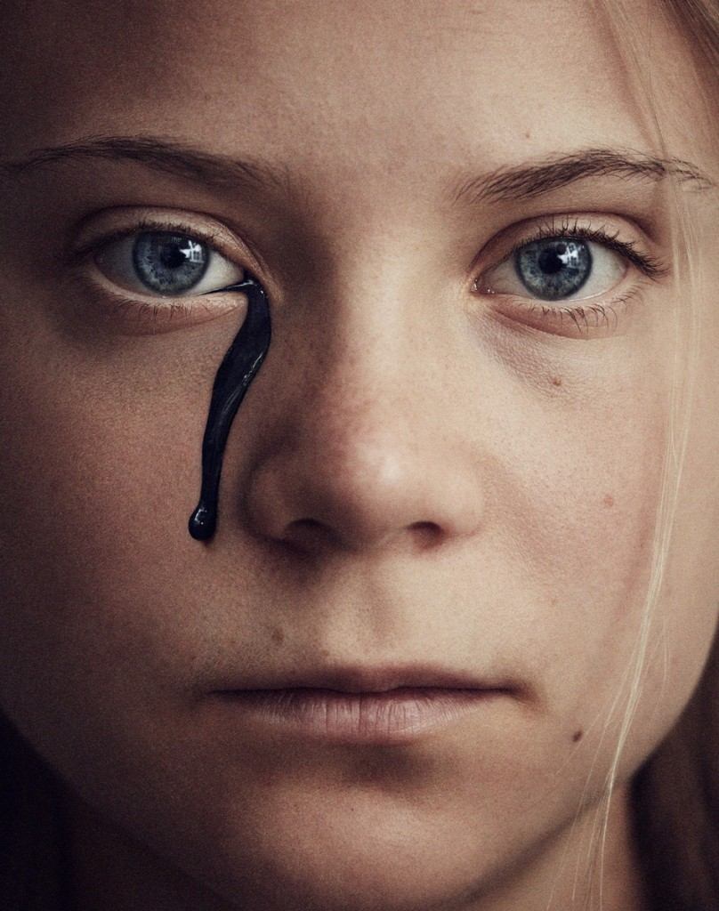 Absolutely touching images by Greta Thunberg for The Guardian, photographed by Marcus Ohlsson-1
