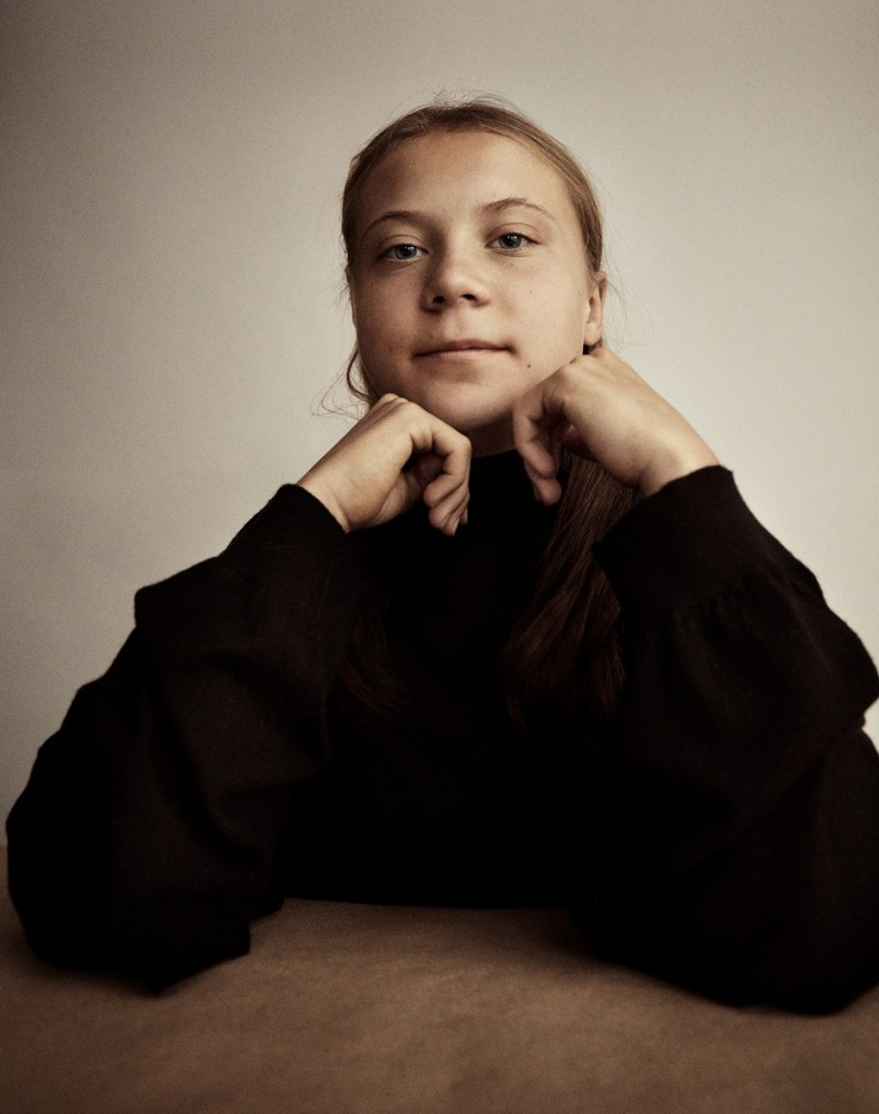 Absolutely touching images by Greta Thunberg for The Guardian, photographed by Marcus Ohlsson-4