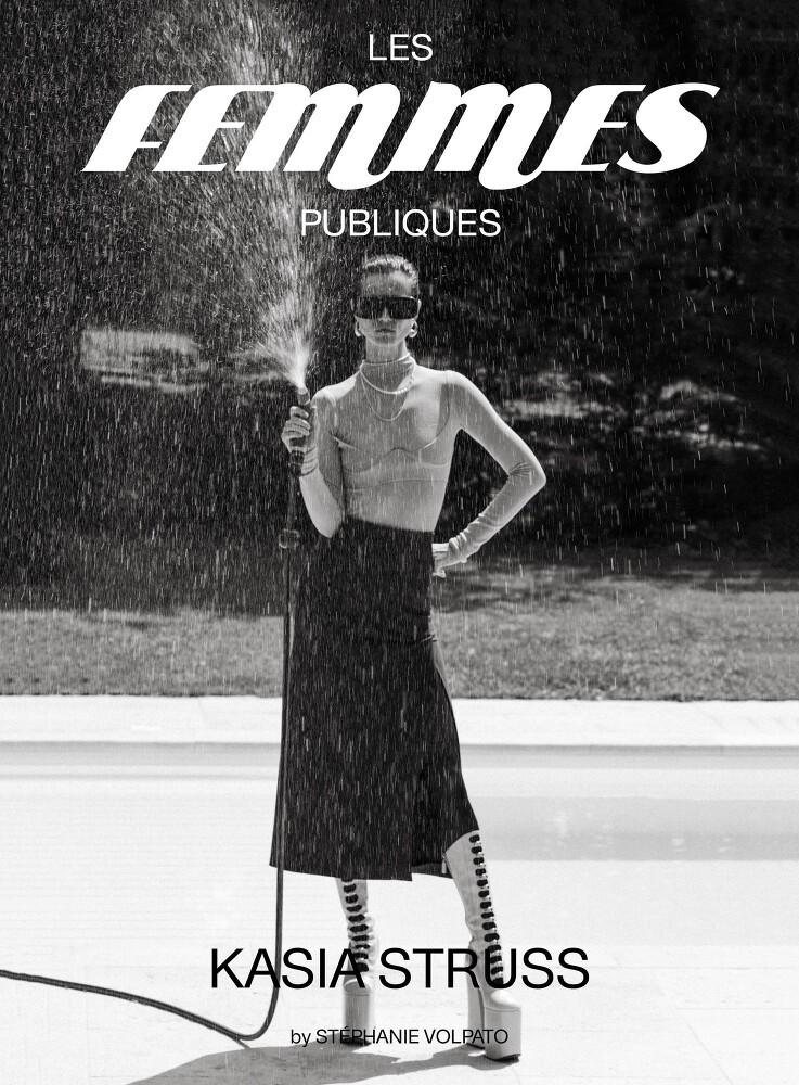 Stephanie Volpato shots Kasia Struss for Les Femmes Publiques-1