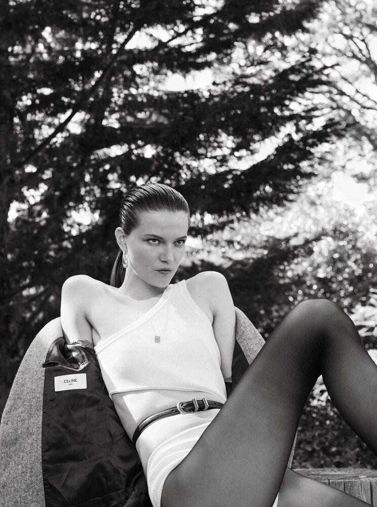 Stephanie Volpato shots Kasia Struss for Les Femmes Publiques-5