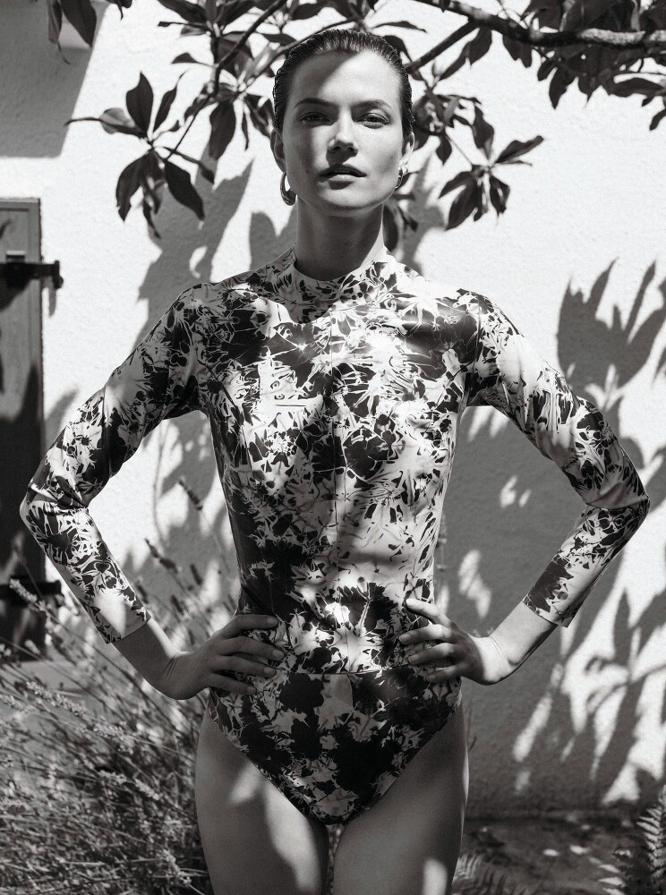 Stephanie Volpato shots Kasia Struss for Les Femmes Publiques-6