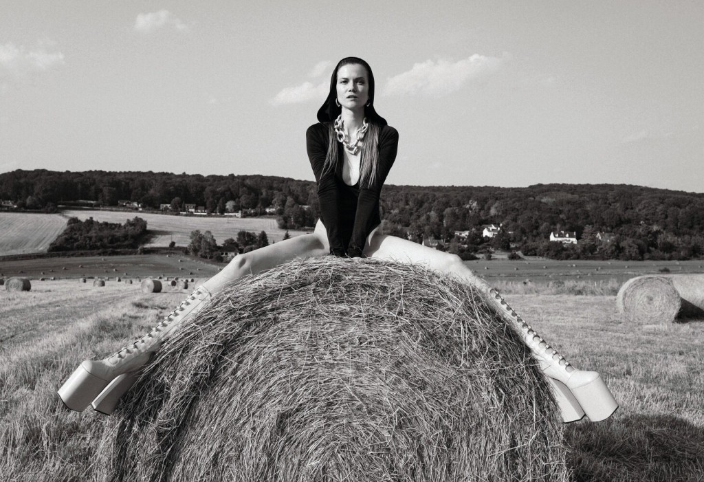 Stephanie Volpato shots Kasia Struss for Les Femmes Publiques-7