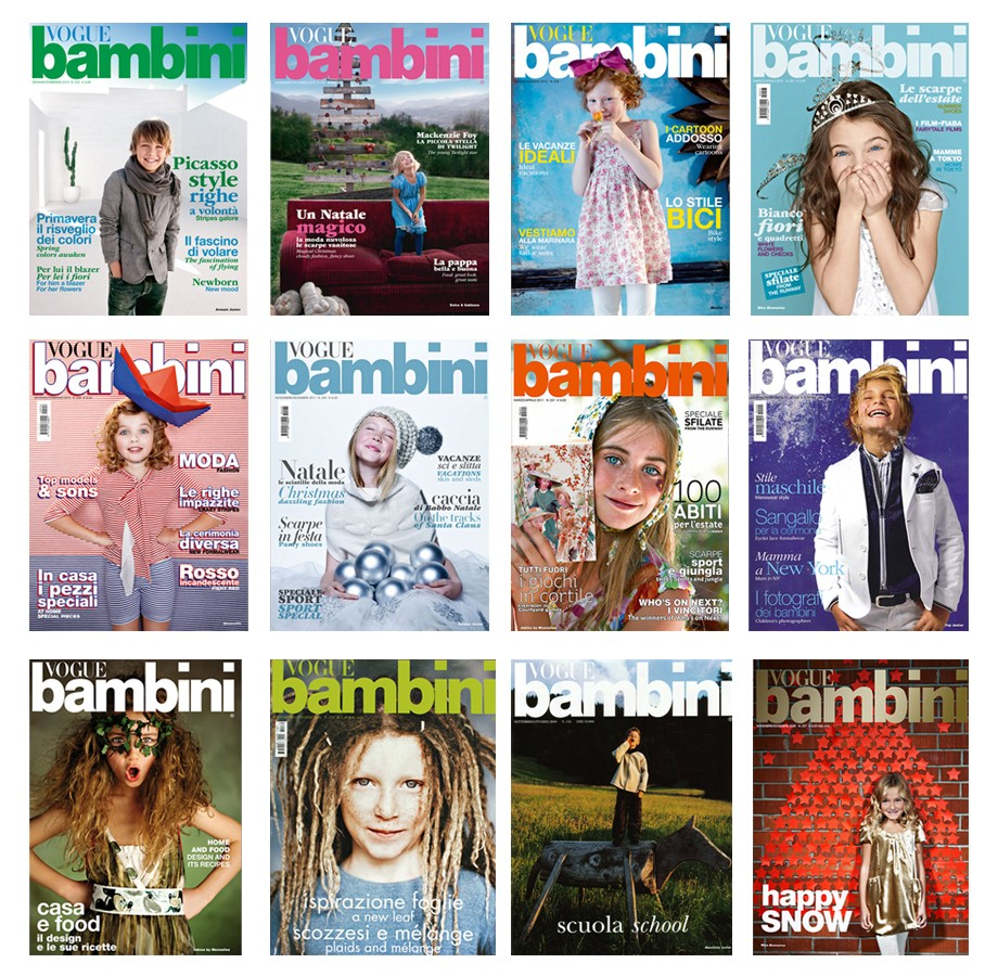 VOGUE BAMBINI COVERS